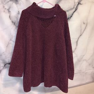 Plum kit sweater